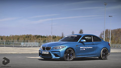 BMW M2. (DENNISVDMEIJS Photography) Tags: 2016 nikon d7000 50mm bmw m2 m2coupé f87 bmwm2 f87m2 m2f87 bmwm2coupé bmwf87m2 bmwm2e87 i6 coupé blauw blue scuderiahanseat duitsland germany nürburg circuit nürburgring nordschleife gpstrecke paddock automotive car supercar sportcar trackcar ringtool lightweight racer straightsix rollcage downforce carbon carbonfiber turbo turbocharged twinturbo motorsport racing photography photoshop spring dennis meijs dennisvdmeijs wwwdennisvdmeijsnl
