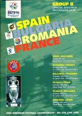European Championships 1996; Group B (tcbuzz) Tags: road england st newcastle european euro leeds championships uefa 96 programme elland jamesspark