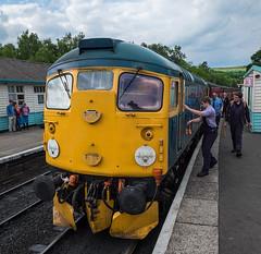 26038 Tom Clift (davep90) Tags: station tom clift fuji rail railway loco fujifilm bru 1024 grosmont irn 26038 xe2 davep90