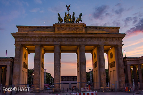 Brandenburg toren, Berlijn
