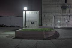 Growing II (Markus Lehr) Tags: longexposure grass concrete industrial nightshot urbanspace markuslehr