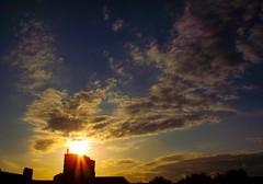 Dawn over camberwell (goldstareagle) Tags: blue sky london clouds sunrise dawn camberwell