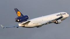 D-ALCA MD-11F Lufthansa Cargo (COCOAJAMESON) Tags: canon manchester aviation cargo lufthansa avp md11 manchesterairport rvp mcdonnelldouglas trijet ringway egcc md11f lufthansacargo avgeek manairport canon70d runwayvisitorpark aviationgeek