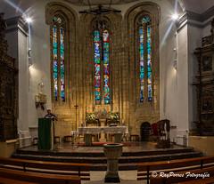 Interior de la Iglesia de San Martin de Leon, Castilla y Leon, Espaa. (RAYPORRES) Tags: espaa interior iglesia leon julio 2016 castillayleon iglesiadesanmartin casaleon sanmigueldelcamino calleplegarias