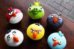 Angry Birds Cupcakes (Animated Cupcakes) Tags: birds cupcakes angry