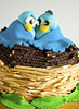 And its a cake! (Hareesh.P) Tags: kuwait kfg twixcake sugarmodelling bluebirdcake lovebirdscake wwwhareeshclickscom riocake allediblefancycake breadstickcake victoriaspongecakewithbuttercream freshproductionskuwait