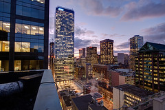 City Life (tomms) Tags: city sunset urban toronto building skyline downtown cityscape bluehour