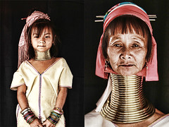 long neck kayan - thailand (Emmanuel Catteau photography) Tags: travel portrait tourism girl beauty face lady neck thailand golden triangle holidays asia long photographer burma refugees north reporter karen rings national journey planet conde myanmar lonely giraffe tribe coil ethnic minority geo geographic nast traveler kayan catteau wwwemmanuelcatteaucom