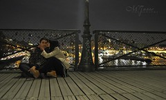 Pont des Arts (MercheTCouso) Tags: paris love kiss amor arts des pont beso