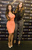 Kim Kardashian and Khloe Kardashian Kim and Khloe Kardashian launch The Kardashian Kollection at Sears Woodfield Mall Chicago, Illinois
