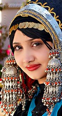 A Yemeni bride (Khalid Alkainaey  ) Tags: travel wedding people heritage tourism girl beautiful beauty gold bride costume women traditional picture yemen sanaa  yaman middleast  ymen    jemen arabiafelix                  unisco beautyshoots    khalidalkainaey yemeniamagazine