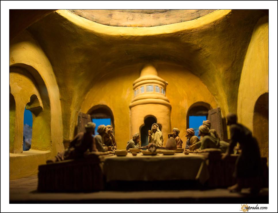The Last Supper diorama - Monsatir de Pedrables