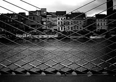 Gent bridge (NOel Sissau) Tags: bridge blackandwhite bw nikon pont schelde brug zwart wit ghent gent oude gand bedding zw escaut d3100 openleggen