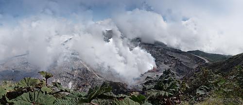 Krater des Vulkan Poás