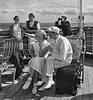Tourists on a Hapag vessel deck (Oldimages) Tags: voyage people couple deck pont deckchairs tourisme hapag croisiere paquebot passagers 19301940 royalcaribbeaninternational hamburgamericanline hamburgamerikalinie