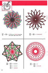 Page 8 (mudyfoot) Tags: flower geometric pen ink vintage toy drawing retro rings 1967 instructions kenner manual 1970s gears lineart spirograph muddyfoot denysfisher hypotrochoids epitrochoids rebeccapocai brunoabakanowicz