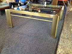 Brass & Glass Coffee Table (Mod Livin') Tags: modern vintage design furniture danish eames midcenturymodern midcentury teak madmen heywoodwakefield selig risom midmod johnkeal