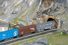 CG399 Entering Tunnel (listentoreason) Tags: usa america canon newjersey model modeltrain unitedstates favorites places diorama northlandz scalemodel modelrailroad hoscale ef28135mmf3556isusm score20 hoscalemodelrailroad