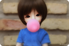 Bubble gum (Arisuyuki) Tags: cute doll body innocent bjd bubblegum dollfie poses eiri spiritdoll dollmore yosd babylamb eirien babylambmiadoll miasbabydollaga dollmoreaga