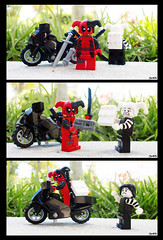 Week 26 (chrisofpie) Tags: chris cute nature project pie toy toys funny lego jester liam legos hero knight brave heroes minifig bandit marvel today mime hire 52 minifigure klutz minifigures 52weeks deadpool stunningphotography wadewinstonwilson legohero whitejester legomarvel stunningphotogpin chrisofpie 52weeksofliamthemime liamthemine