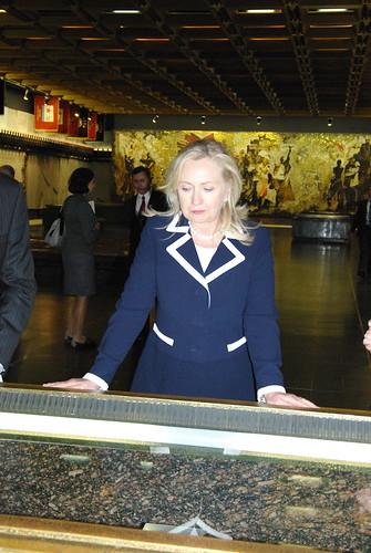 Хиллари Клинтон в Санкт-Петербурге ©  Генконсульство США в СПб