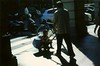 China Express (akio.takemoto) Tags: street colour film colore child dia bologna bimbo nikonfe diapositiva 100iso pellicola agfactprecisa mezzoditrasporto