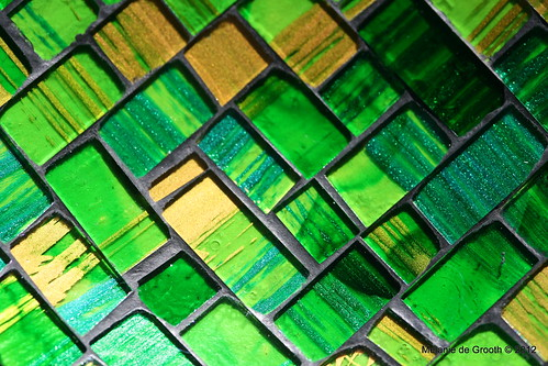 Green Gold Mosaic