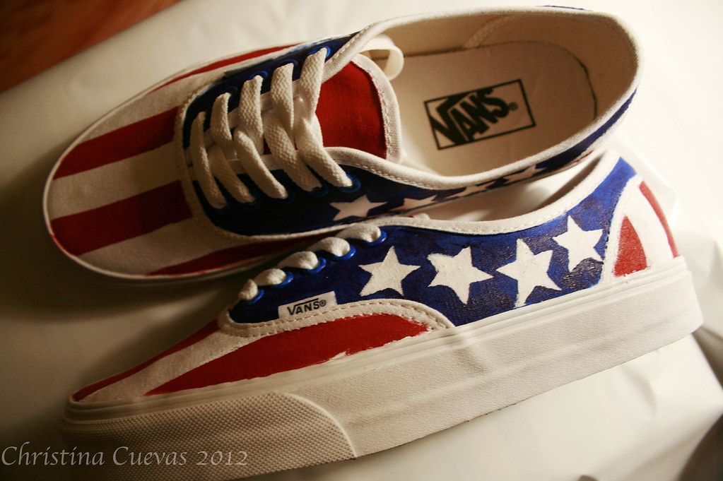 American Made Vans Shoes