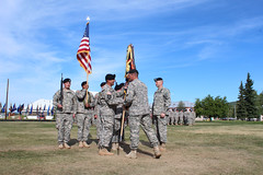 120712-A-AX238-010 (1 Stryker Brigade Combat Team Arctic Wolves) Tags: soldier army ceremony command gimlet stryker fort in arctic wolves 125 wainwright sbct 321