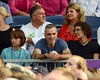 Daniel Day Lewis and wife Rebecca Miller watch Bruce Springsteen perform at The RDS Dublin, Ireland