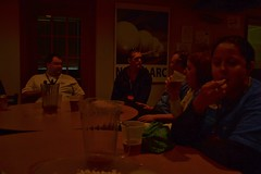 """Unofficial Debriefing"" at Afterburners (this little moon) Tags: nasa langely langleyresearchcenter nasatweetup"