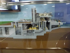 Model of 'the Cathedral' and the pump system (Stop carbon pollution) Tags: japan  gcans saitamaken   kasukabeshi