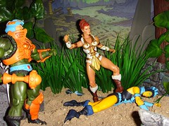 0.22 One for luck (custombase) Tags: classics figures mastersoftheuniverse teela evillyn