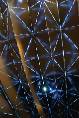 north woden pear: detail {explored #325} (Seakayem) Tags: light sculpture sony explore canberra publicart bluehour slt publicsculpture a55 woden explored worganstreet northwoden furzerstreet