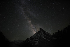 Milky Way over Mitre Peak (6010 m), Karakorum (Oleg Bartunov) Tags: flickraward nikonflickraward