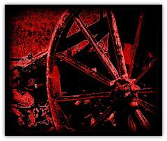 Das Rad (Ela2007) Tags: wheel germany deutschland hessen rad hesse holzrad abigfave basdorfr
