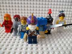 founders of the freaky league (the lordimaginator) Tags: logo lego freaky knight undead superheroes custom pyre league masque blox minifigures knower boyborg samubride