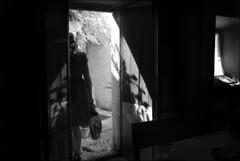 (Raymond Wealthy) Tags: lighting new windows light shadow people blackandwhite bw woman window girl blackwhite nikon europe shadows gente emotion noiretblanc streetphotography sombra bn vida streetphoto noirblanc streetshot blanconegro nikond80 blancoenegro