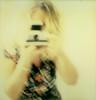 the sx-70 newbie (Susanne Klostermann) Tags: polaroid sx70 gelb instant ich selbstportrait 2012 impossible meandmycamera sofortbild px70 theimpossibleproject
