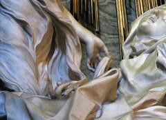 Bernini, Angel's Hand, Ecstasy of Saint Teresa, Cornaro Chapel, Santa Maria della Vittoria