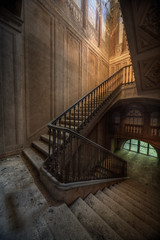 Decadence (andre govia.) Tags: urban house never abandoned stairs buildings photo shot photos decay andre explore stop manor exploration ue urbex govia
