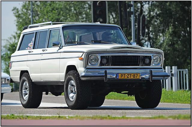 jeep 1973 v8 classiccars wagoneer jeepwagoneer classicamericancars kingcruise v8meeting kingcruisemuiden ruudonos classicuscars jeepwagoneer1973 ptzt87 haagscheamerikanenclub