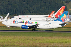 Small Planet Airlines Boeing 737-3L9 LY-FLE cn 27061/2347 (Clment Alloing - CAphotography) Tags: cn canon airplane airport aircraft small flight planet boeing airlines aeroport aeropuerto spotting lourdes pyrnes tlp tarbes 100400 lde 7373l9 lfbt lyfle 270612347