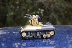 Wolverine-ish :) (Florida Shoooter) Tags: usa lego northafrica armor ww2 1943 flakvierling m10wolverine