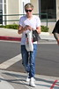 Niall Horan of One Direction seen out shopping at Armani Exchange and H&M on Sunset