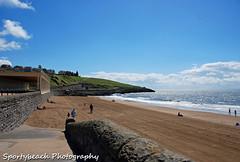 Whitmore Bay (jonnywalker) Tags: sea sky beach southwales wales coast seaside sand bluesky barry promenade valeofglamorgan barryisland nellspoint