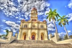 El Cobre, Cuba (E.K.111) Tags: building church architecture canon cuba hdr elcobre