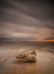 Coquet Orange (Squareburn) Tags: longexposure lighthouse w