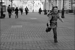 6_DSC3274 (dmitry_ryzhkov) Tags: life street city ladies portrait people urban blackandwhite bw woman motion public girl monochrome face look kids digital children person photography photo kid movement eyes photographer child shot minolta