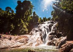 Jangkar Waterfall-2 (nainetphotomania) Tags: sarawak sematan lundu jungletreking jangkarwaterfall selako kampungjantan